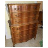 Exceptional Six Drawer Wooden Dresser
