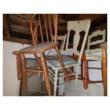 Assorted Wooden Chairs
