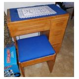 Sewing Cabinet and Sewing Items
