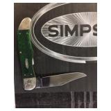 XX case knife green