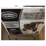 Simpson 3300  pressure washer