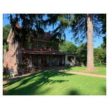 STONE HOUSE, BANK BARN & SPRING HOUSE W/POND ON 21.78 +/- ACRES