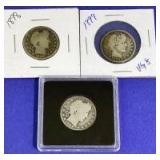 1898-1899 Barber Quarters