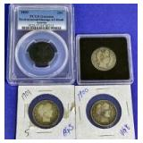 1893-1901 Quarters