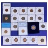1955-1960 Lincoln Cents
