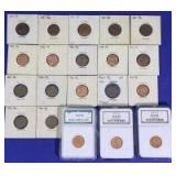 1960-1961 Lincoln Cents