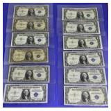 US Silver Certificate $1 1935 Series