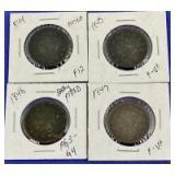 1844-1847 Braided Hair Large Cents