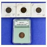1890-1895 Indian Head Cents