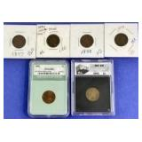 1897-1901 Indian Head Cents