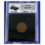 1908-S Indian Head Cent F-12 UGS