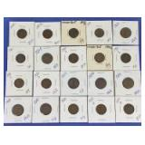 1918-1930 Indian Head & Lincoln Cents