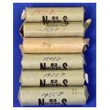 1939-1955 Jefferson Nickels