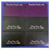 1986-1993 US Mint Proof Sets