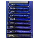 1999-2008 US Mint Proof Sets