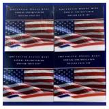 2007 & 2008 US Mint Annual Uncirculated Dollar Coin Set