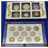 1945 & 1955 Coin Sets