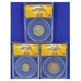 1943-1945 Swiss Coins