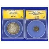 1942-1961 Netherlands Coins