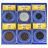 1854-1918 Great Britain Coins