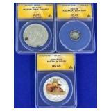 Belgium & Australia Coins