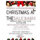 Christmas at athe Sale Barn
