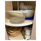 Storage, Bake Items, Baskets