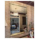 Large Beveled Entry Mirror