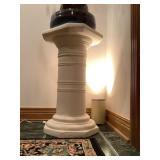 Pedestals with Lights