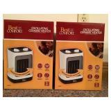 Ceramic Heaters (2x)