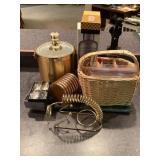 Briard Ice Bucket, Coasters, Bar Items