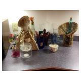 Glass Mugs, Painted Wine Glass, Bottle Doll