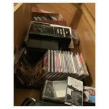Asstd CDs, Cassette Tapes