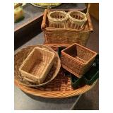 8 Wicker Baskets