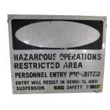 Nasa John F Kennedy  Space Center Sign