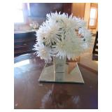 (7) Decorative Plates w/Vase & Mirror