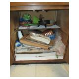 Misc. Contents of Cabinet