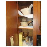 Stoneware Potts, Egg Cooker, Misc.