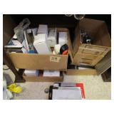 Contents of Boxes, & Cell Phone Accessories
