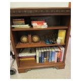 Loose Contents of Shelves:  Bookends, Books,
