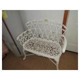 Hanging Wall Deor,& Cast Iron Bench