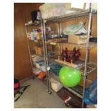 Stainless Stell Shelf w/Wheels