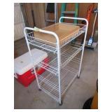 Metal Rolling Organizer Cart