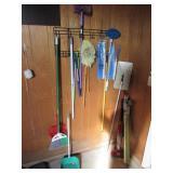 Various Cleaning Tools, Mop, Broom, Dust Pan,