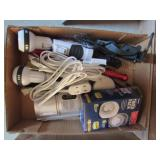 Assorted Lights, & Extension Cords