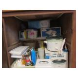 Loose Contents of Cabinet: Cleaning