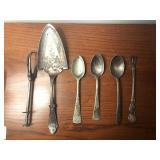 6 Pieces Silver Utensils