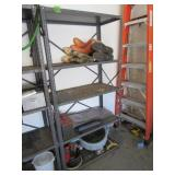 Metal Shelving Unit (Contents Not Included)