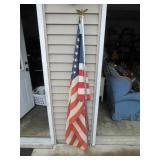 Flag Pole and Flag