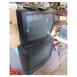 (2) Color Televisions